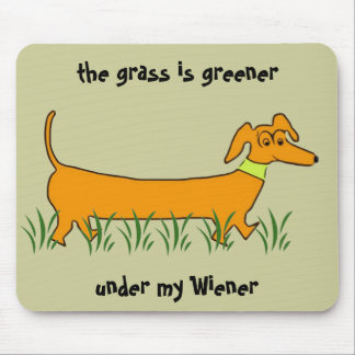 Dachshund Wiener Mouse Pad