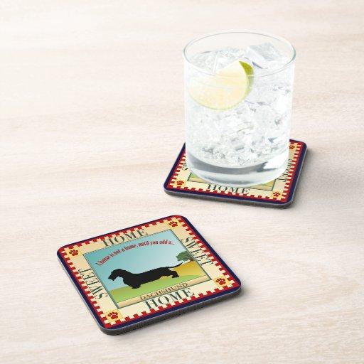 Dachshund [Wire-haired] Beverage Coaster