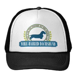 Dachshund [wire haired] trucker hat