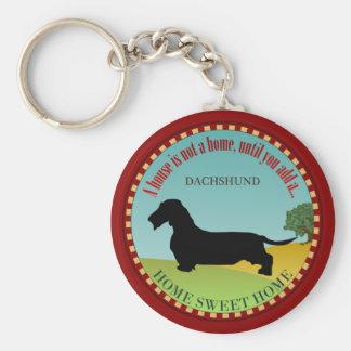 Dachshund [Wire-haired] Keychain