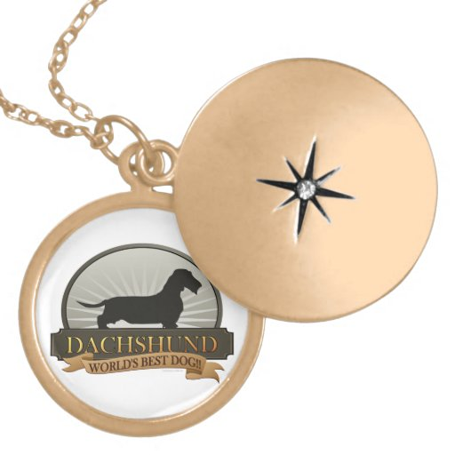 Dachshund [Wire-haired] Personalized Necklace