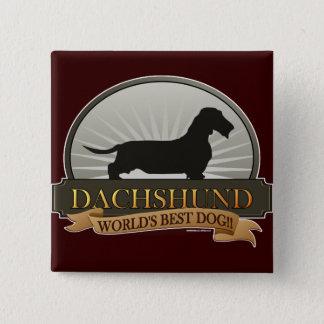 Dachshund [Wire-haired] Pinback Button