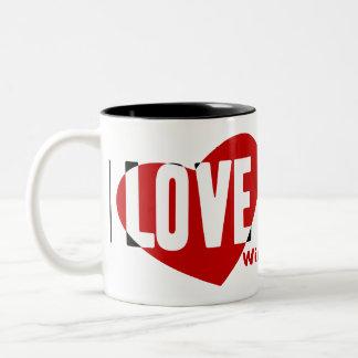Dachshund [Wire-haired] Two-Tone Coffee Mug