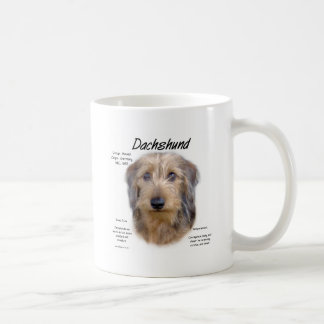 Dachshund (wirehair) History Design Mug