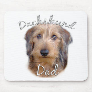 Dachshund (wirehaired) Dad 2 Mouse Pad