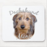 Dachshund (wirehaired) Mom 2 Mouse Pad
