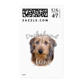 Dachshund (wirehaired) Mom 2 Postage