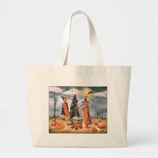 Dachshund Witches Jumbo Tote Bag