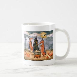 Dachshund Witches Classic White Coffee Mug
