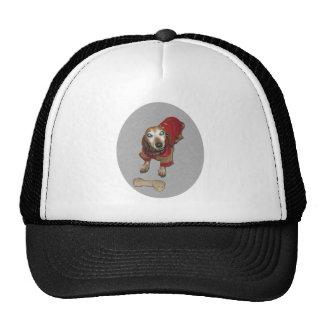 Dachshund with a Bone Trucker Hat
