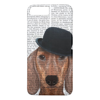 Dachshund with Black Bowler Hat iPhone 8 Plus/7 Plus Case