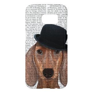 Dachshund with Black Bowler Hat Samsung Galaxy S7 Case