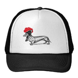 Dachshund with Bollenhut Trucker Hat