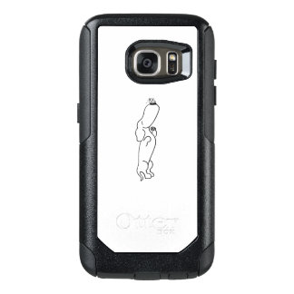 Dachshund with Butterfly OtterBox Samsung Galaxy S7 Case