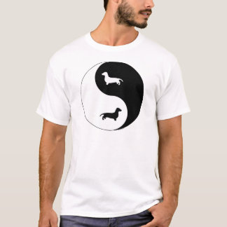 Dachshund Yin Yang T-Shirt