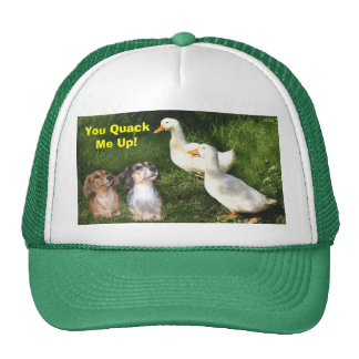Dachshunds and Ducks Hat
