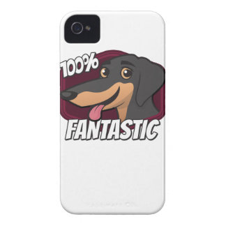 Dachshunds are 100% Fantastic iPhone 4 Cover