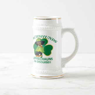Dachshunds Are Leprechauns In Disguise 18 Oz Beer Stein