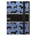 Dachshunds azules claros conocidos personalizados  iPad mini fundas