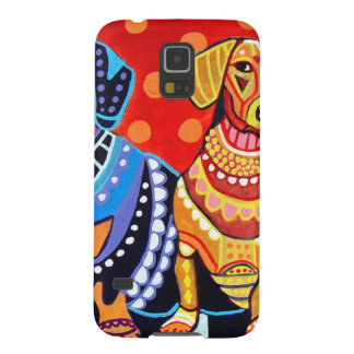 Dachshunds by Heather Galler Case For Galaxy S5