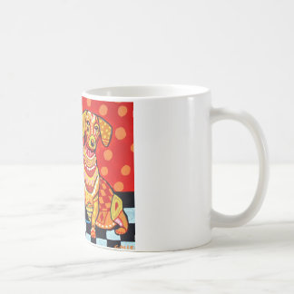 Dachshunds by Heather Galler Classic White Coffee Mug