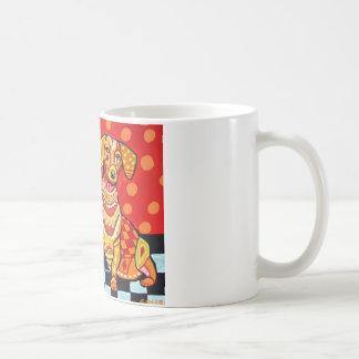 Dachshunds by Heather Galler Coffee Mug