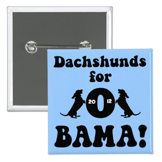 dachshunds for Obama Button