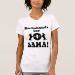 dachshunds for Obama Tshirts