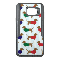 OtterBox Commuter Samsung Note 5 Case with Dachshund Phone Cases design