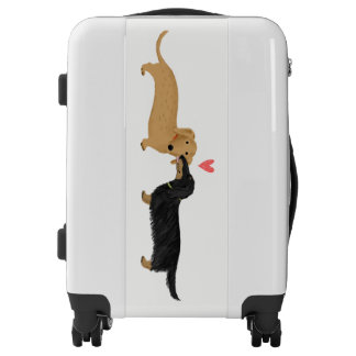Dachshunds Love Luggage