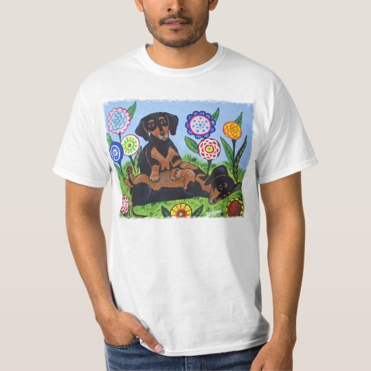 Dachshunds Love to Play T Shirt