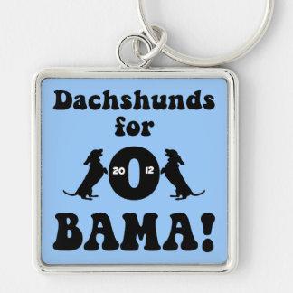 dachshunds para Obama Llavero Personalizado