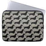 Dachshunds Pattern (Short Haired Wiener Dogs) Laptop Computer Sleeves