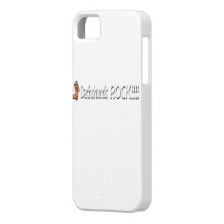 Dachshunds Rock iPhone 5/5S Case.