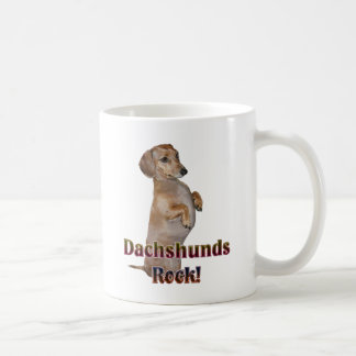 Dachshunds Rock Lilly Coffee Mug