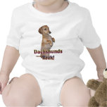 Dachshunds Rock Lilly T Shirts