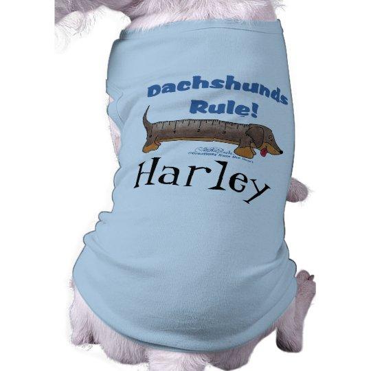 Dachshunds Rule Shirt