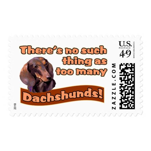 DACHSHUNDS STAMP