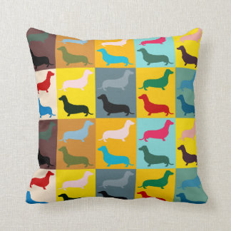 Dachshunds Throw Pillow