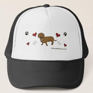 DachshundTan Trucker Hat