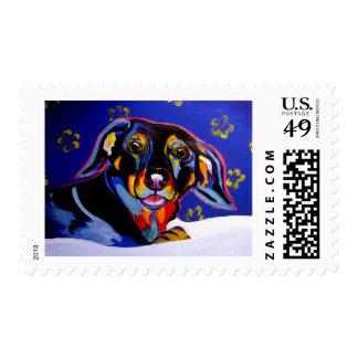 Dachsund #1 stamp