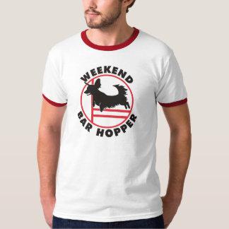 Dachsy Agility Weekend Bar Hopper T-shirt
