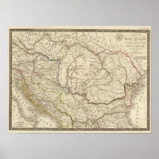 Dacia viejo, Pannonia, Illyria, Moesia Póster