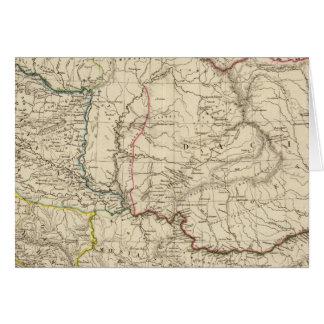 Dacia viejo, Pannonia, Illyria, Moesia Tarjeta De Felicitación