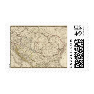 Dacia viejo, Pannonia, Illyria, Moesia Timbre Postal