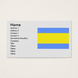 Dacice, Czech Business Card