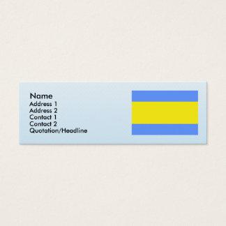 Dacice, Czech Mini Business Card