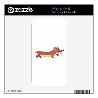 Dackel sausage dog skin for iPhone 4S