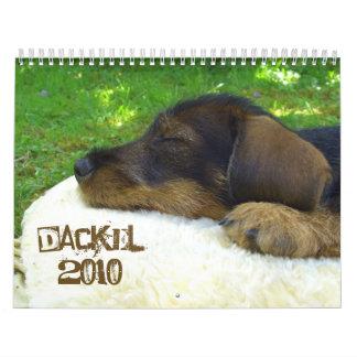 Dackelkalender 2010 - Suesse Rauhaardackelfotos Calendar