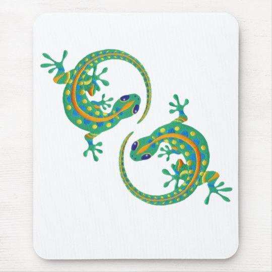 Daco art Lizards Mouse Pad